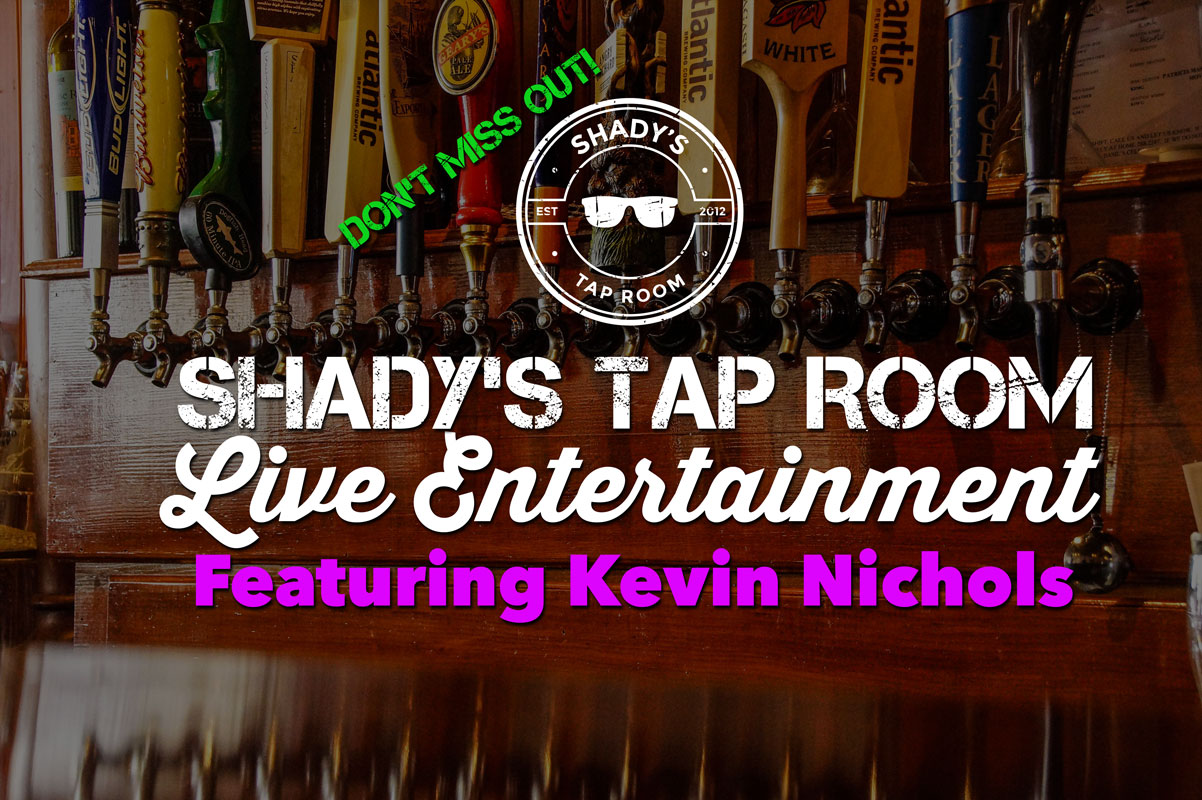 Live Entertainment Featuring Kevin Nichols Saturday Oct 21, 2017